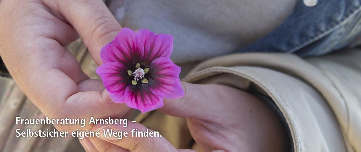 Frauenberatung Arnsberg - Selbstsicher eigene Wege finden.